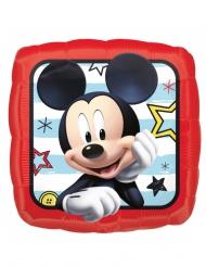 Globo cuadrado aluminio Mickey™ 40 x 40 cm