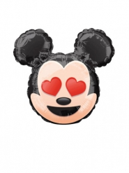 Globo pequeño aluminio Mickey Emoji™ 22 cm
