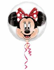 Globo de aluminio double bubble cabeza de Minnie™ 60x60 cm