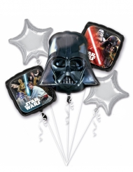 Bouquet de 5 globos aluminio Star Wars™