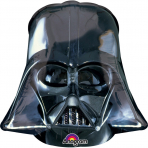 Globo pequeño aluminio cabeza de Dark Vader™ 25 x 27 cm