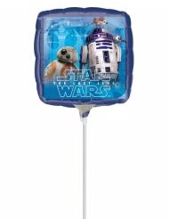 Globo pequeño aluminio cuadrado Star Wars™ 23x23