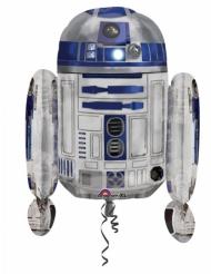 Globo aluminio R2D2 Star Wars™ 55 x 66 cm