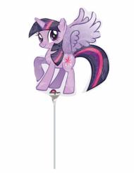 Globo pequeño aluminio My Little Pony™ 25 x 27 cm