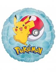 Globo pequeño aluminio Pikachu™ 43 cm