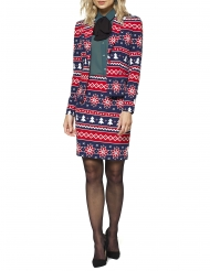 TRaje Mrs. Nordic Xmas mujer Opposuits™