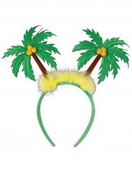 Diadema palmeras verdes adulto