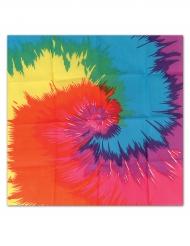 Pañuelo hippie multicolor 55 x 55 cm