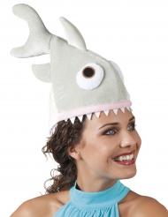 Gorro tiburón peluche adulto