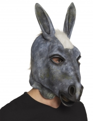 Máscara látex burro adulto