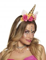 Diadema unicornio encantado mujer