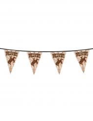 Guirlanda banderines Western Wild West 6 m