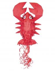 Piñata langosta roja 50 cm