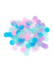 Confeti de papel redondo multicolores 20 g