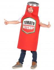 Disfraz ketchup niño