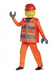 Disfraz lujo obrero de construcción LEGO™ niño