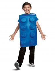 Disfraz pieza de Lego azul niño