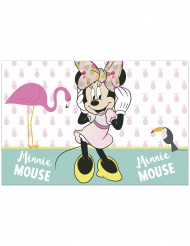 Mantel de plastico Minnie™ tropical 120 x 180 cm