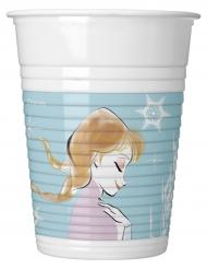 8 Vasos de plástico Frozen™ 200 ml