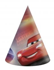 6 Gorros de fiesta cartón Cars™
