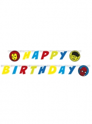 Guirlanda happy birthday Avengers™ 2 metros