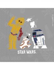 20 Servilletas de papel Star Wars Forces™