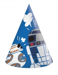 6 Gorros de fiesta de carón Star Wars Forces™