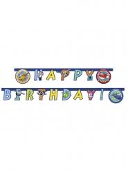 Guirlanda happy birthday Super Wings™ 2 metros