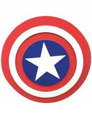 Escudo de espuma Capitán América™ 30 cm niño