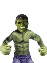 kit máscara y guantes gigantes Hulk™ niño
