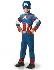 Disfraz clásico Capitán América™ serie animada niño