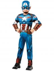 Disfraz lujo Capitán América™ serie animada niño