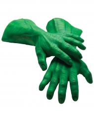 Guantes gigantes de látex Hulk™ adulto