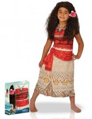 Disfraz clásico Vaiana™ con peluca niña en caja