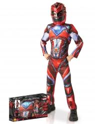 Disfraz Power Rangers™ lujo en caja rojo niño