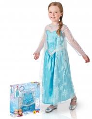 Disfraz Elsa Frozen™ lujo en caja niña