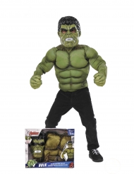 Disfraz con relleno Hulk™ con máscara niño