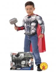 Disfraz Thor Los Vengadores™ con martillo niño