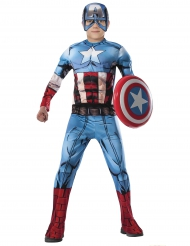 Disfraz lujo Capitán América Los Vengadores™ niño