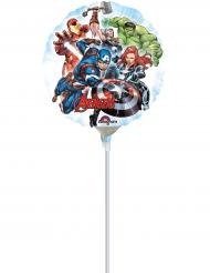 Globo pequeño aluminio Avengers™ 23 cm