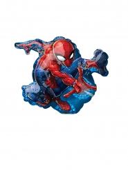 Globo pequeño aluminio Spiderman™ 17 x 25 cm