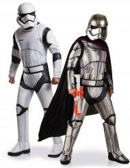 Disfraz de pareja Stormtrooper y Capitán Phasma Star Wars™