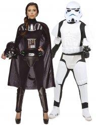 Disfraz pareja Dark Vader y Stormtrooper - Star Wars™