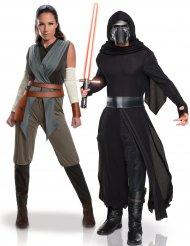 Disfraz de pareja Rey y Kylo Ren - Star Wars™