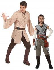 Disfraz de pareja Rey y Jedi - padre e hija de Star Wars™