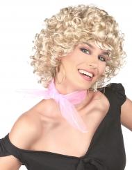 Peluca rubia años 50 para mujer