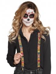 Tirantes mexicanos adultos Día de los muertos