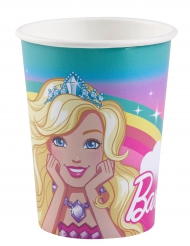 8 Vasos de cartón Barbie Dreamtopía™ 250 ml