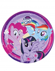 8 Platos cartón My Little Pony™ 23 cm