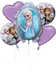 Ramo de 5 globos aluminio Frozen™